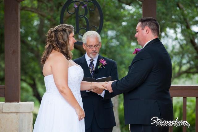 Jeanette wedding Boulder Springs Stonehaven rings hers