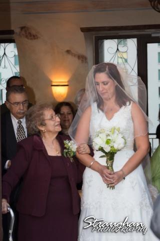 Tony Wedding Rio Plaza with grandmother