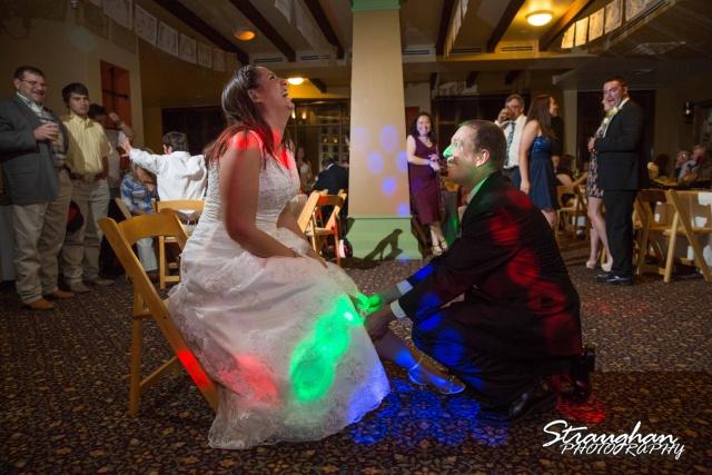 Tony Wedding Rio Plaza garter