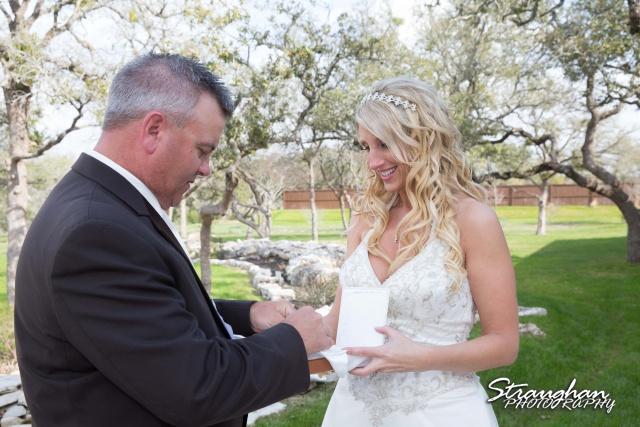 Teresa wedding Boulder Springs, Legacy hall groom gift