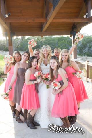 Teresa wedding Boulder Springs, Legacy hall bridesmaids