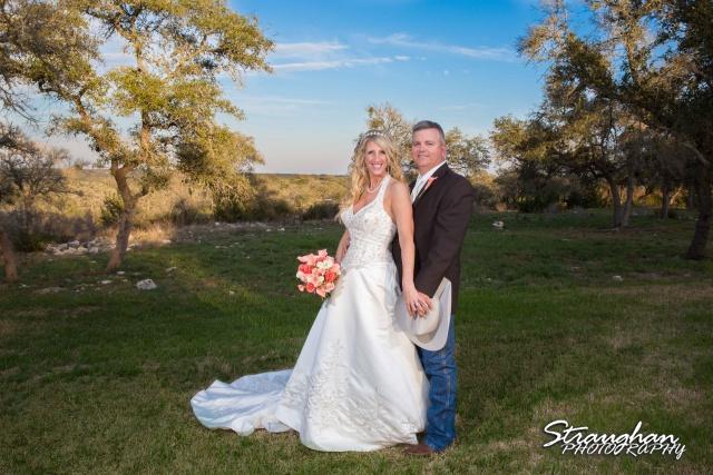 Teresa wedding Boulder Springs, Legacy hall the couple