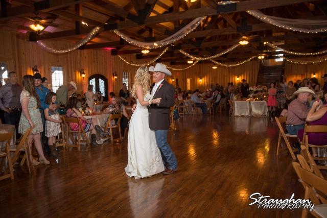 Teresa wedding Boulder Springs, Legacy hall first dance