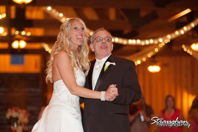 Teresa wedding Boulder Springs, Legacy hall fathers dance