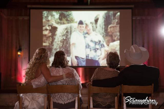 Teresa wedding Boulder Springs, Legacy hall slideshow
