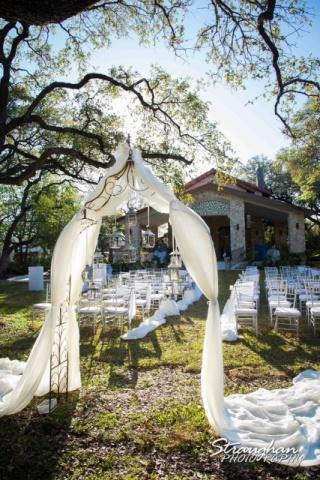 Wedding Site at the Veranda