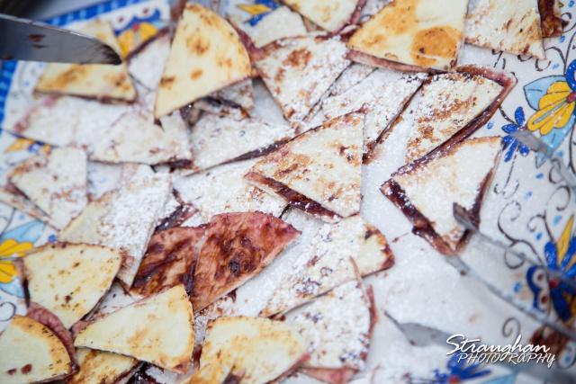 Nutella tortillas at the Veranda