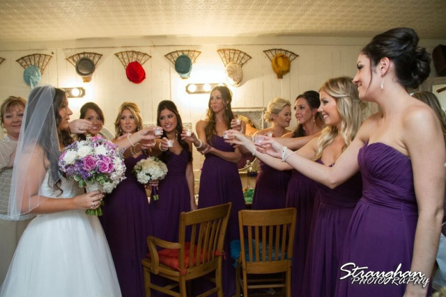 Stephanie wedding Spring Hill Event Center brides toasts