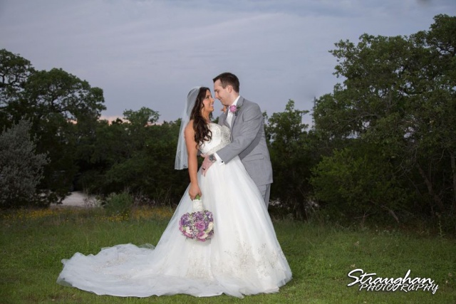 Stephanie wedding Spring Hill Event Center couple in the sky