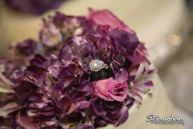 Stephanie wedding Spring Hill Event Center ring