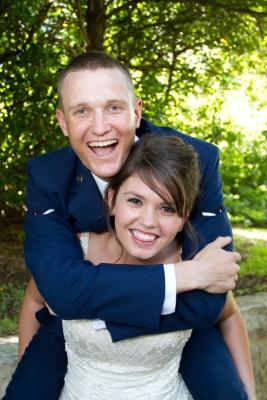 Amanda and Todd's wedding