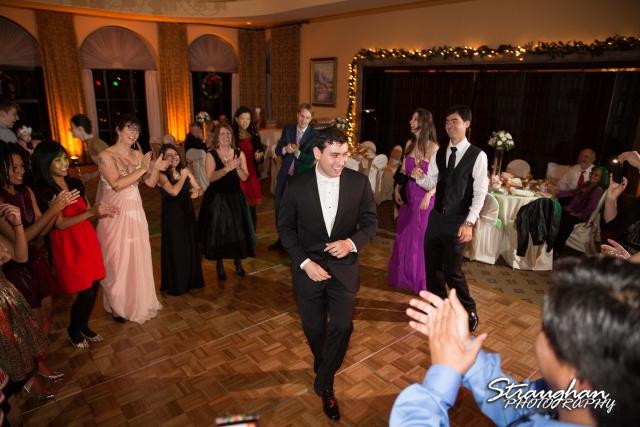 Ashlie wedding Club at Sonterra party time