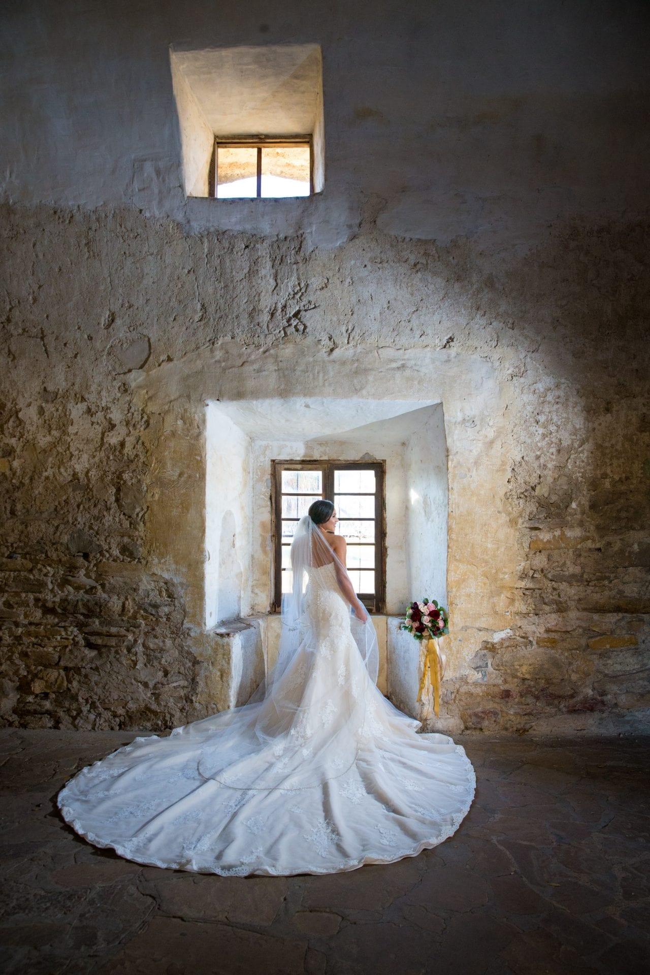 Bridal portrait Kristin San Jose