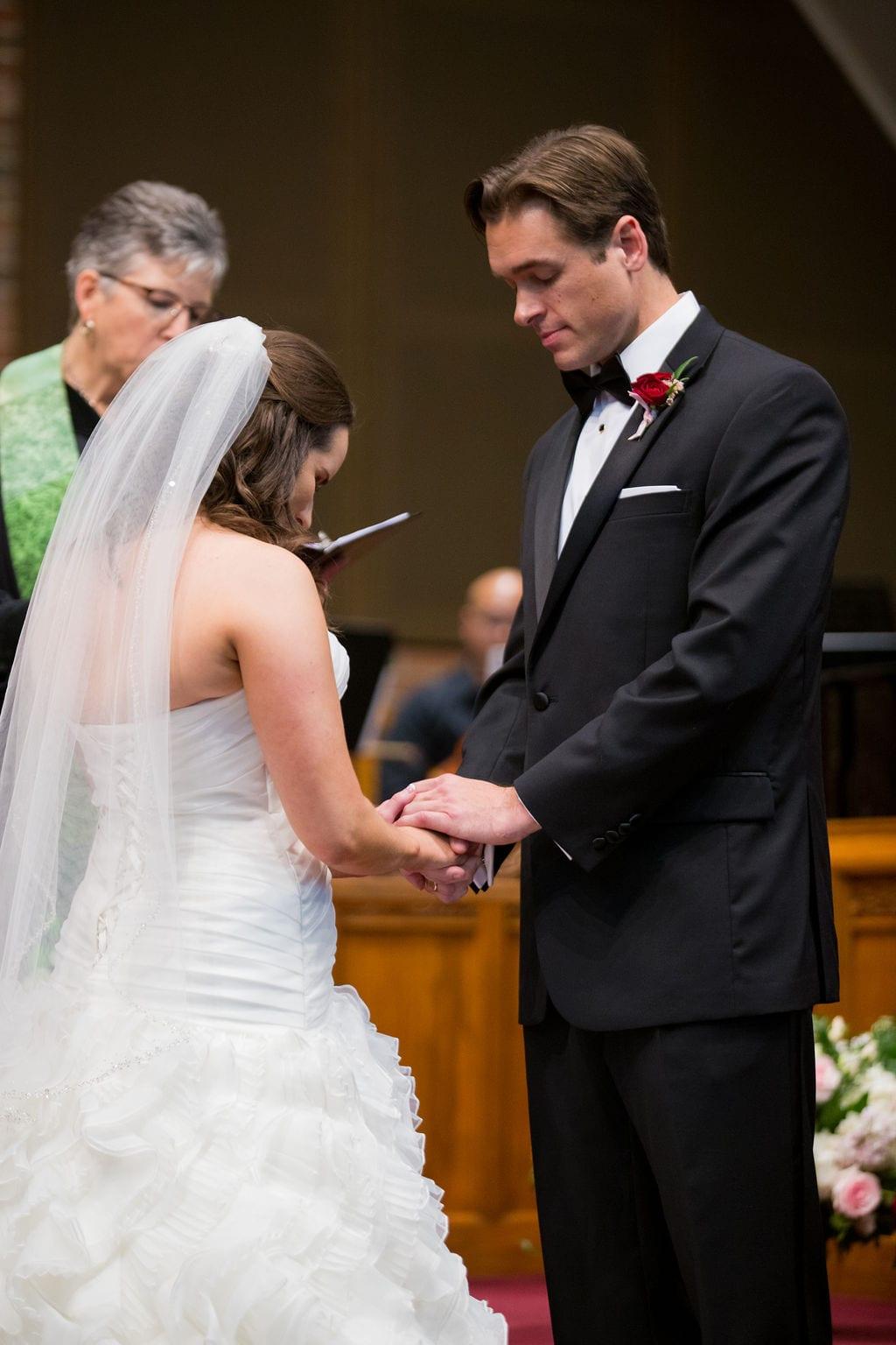 Ashley and Josh's wedding ceremony prayer