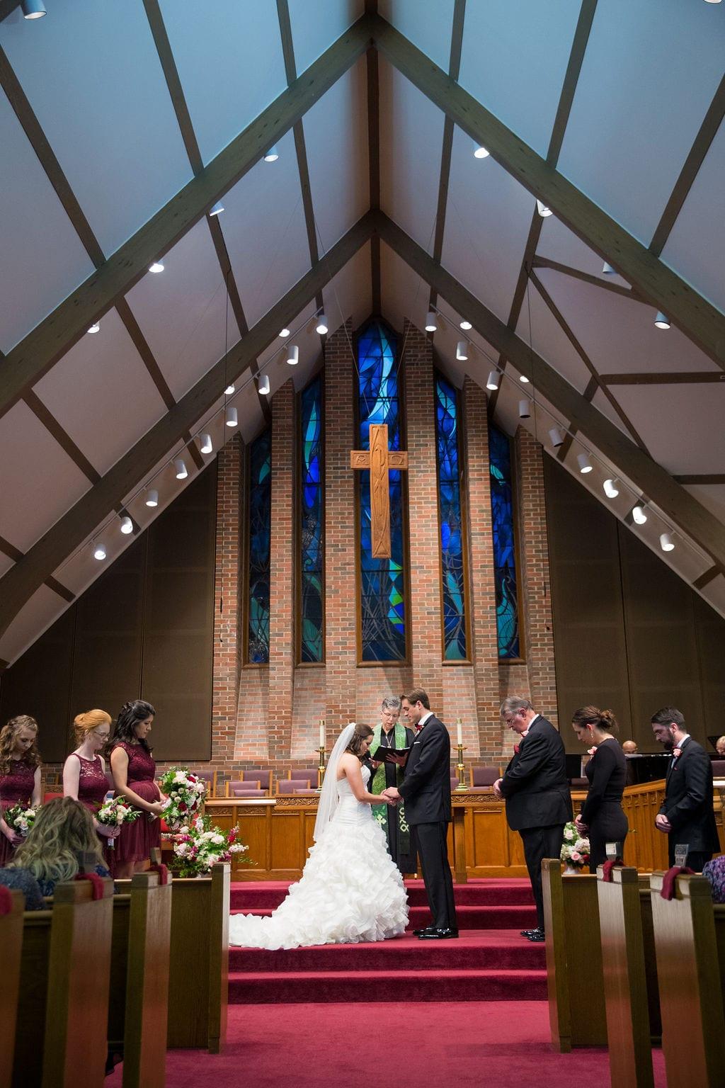 Ashley - Josh's wedding ceremony