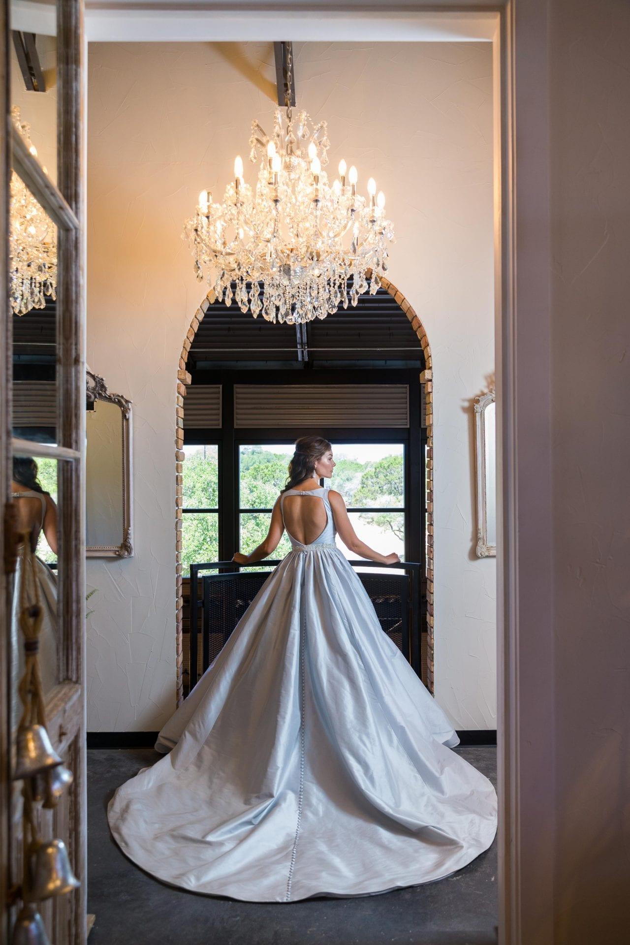 Park 31 bridal blue dress