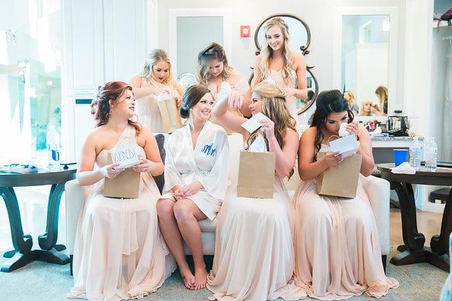 Samantha Wedding Hidden Falls bridesmaids gifts