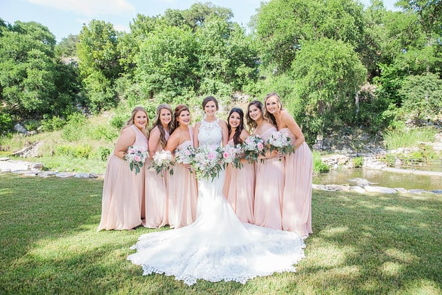 Samantha Wedding Hidden Falls bridesmaids