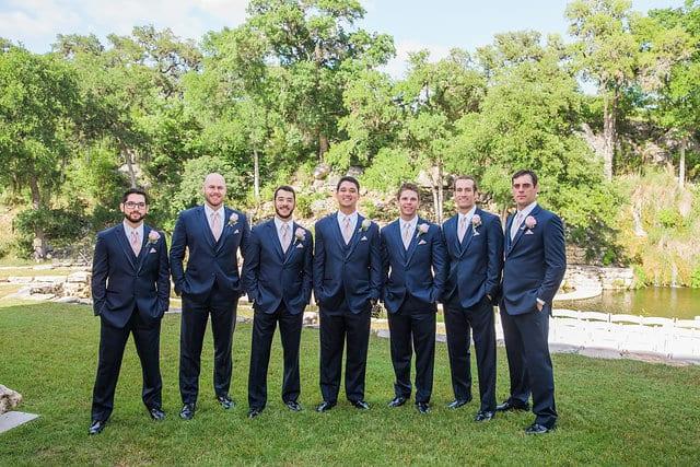 Samantha Wedding Hidden Falls groomsmen