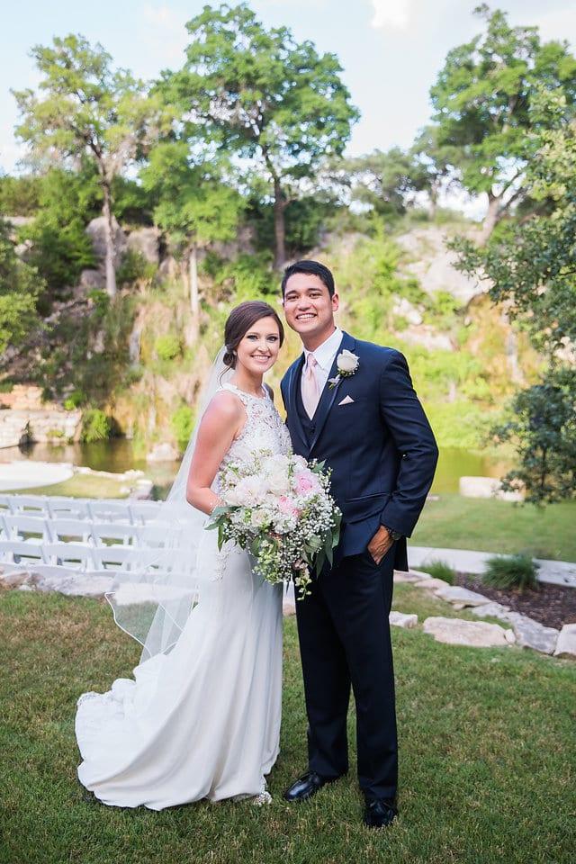 Samantha Wedding Hidden Falls bride and groom