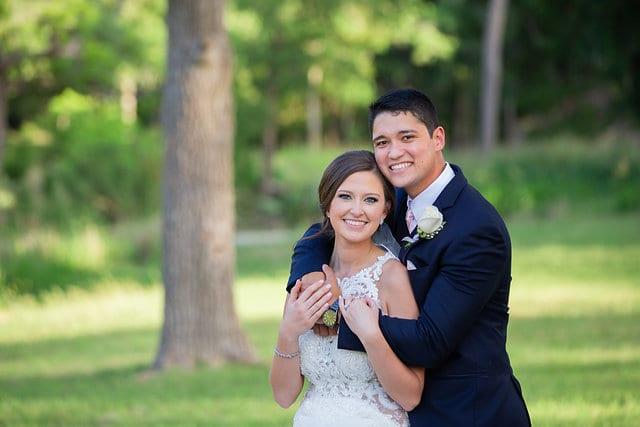 Samantha Wedding Hidden Falls couples faces