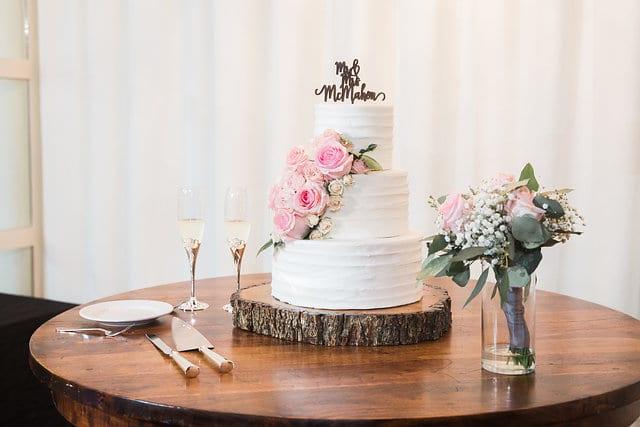 Samantha Wedding Hidden Falls cake