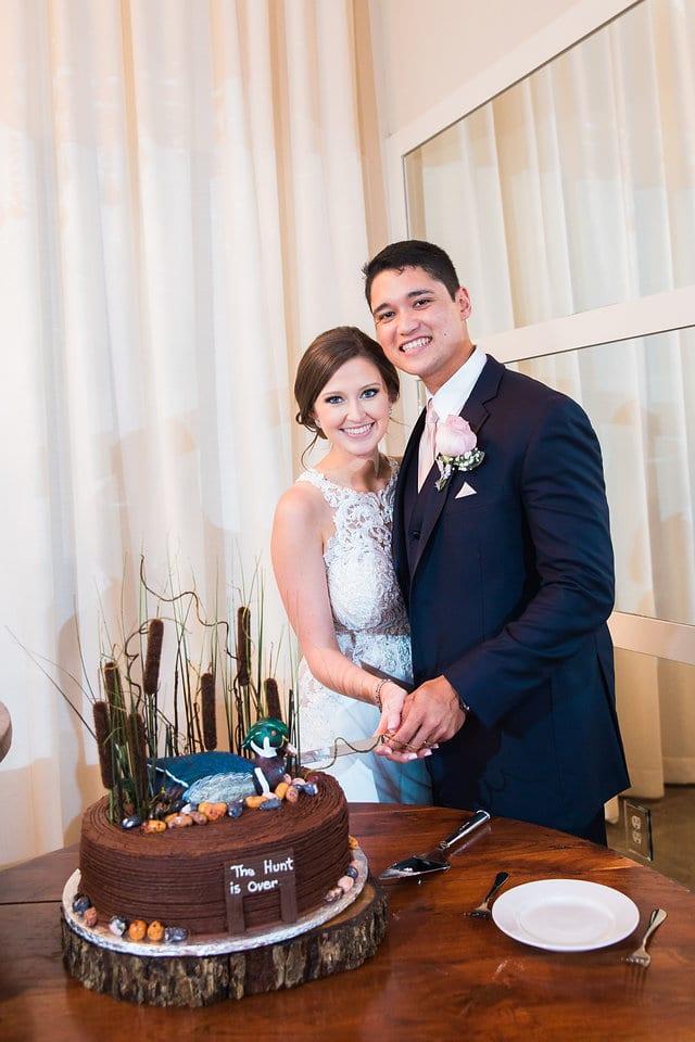 Samantha Wedding Hidden Falls grooms cake
