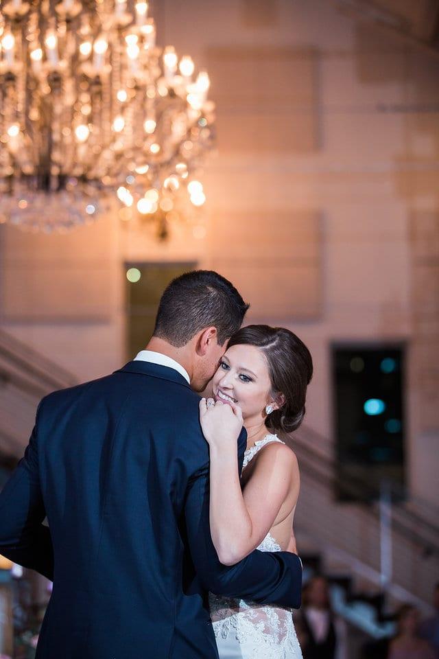 Samantha Wedding Hidden Falls first dance close up