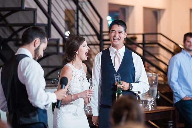 Samantha Wedding Hidden Falls funny toasts
