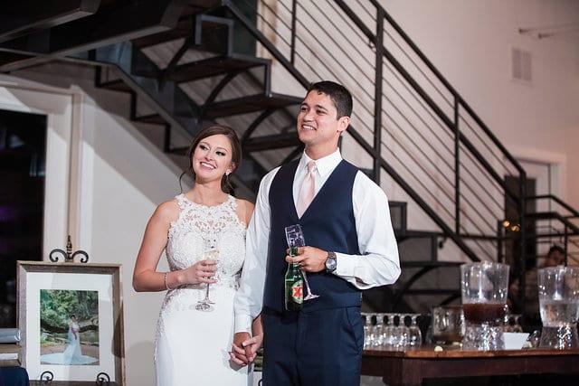 Samantha Wedding Hidden Falls toasts