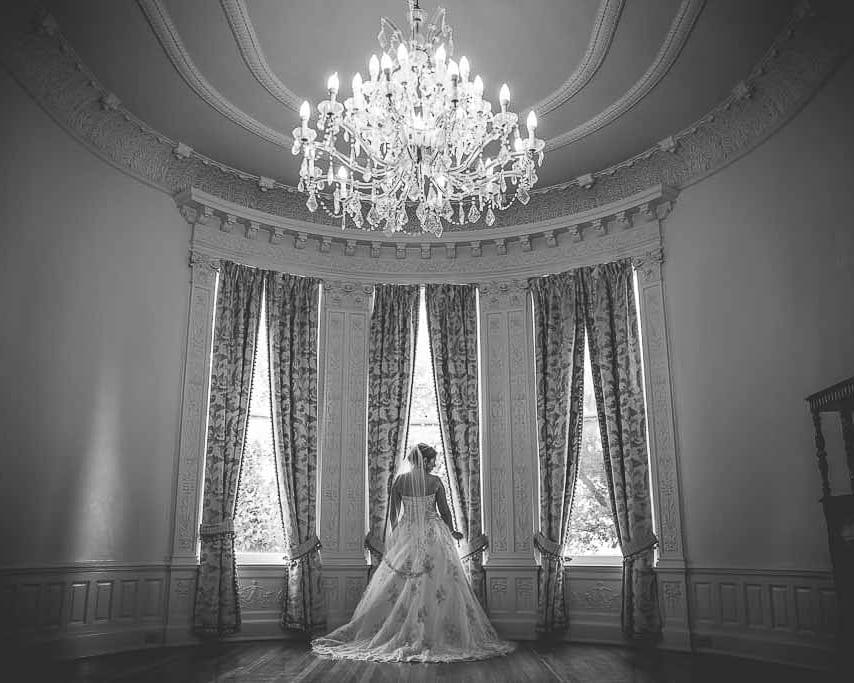 Amanda's bridal at the Kohler House
