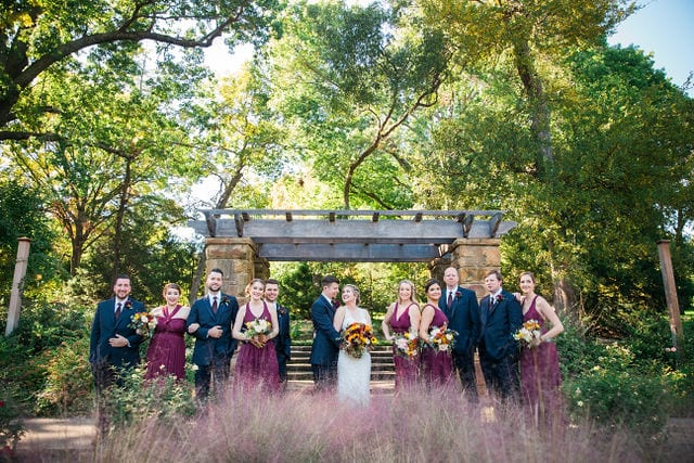 Ft Worth wedding gazebo shot