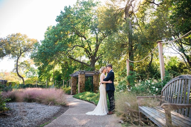Ft Worth wedding gazebo bride