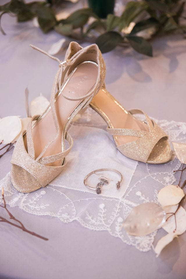 Lauren wedding Seekatz shoes