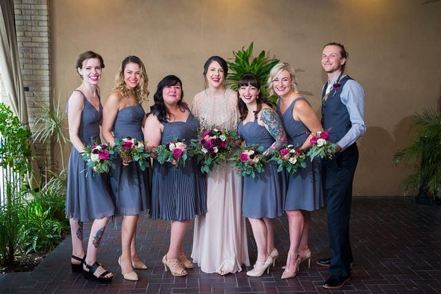 Lauren wedding Seekatz bridesmaids