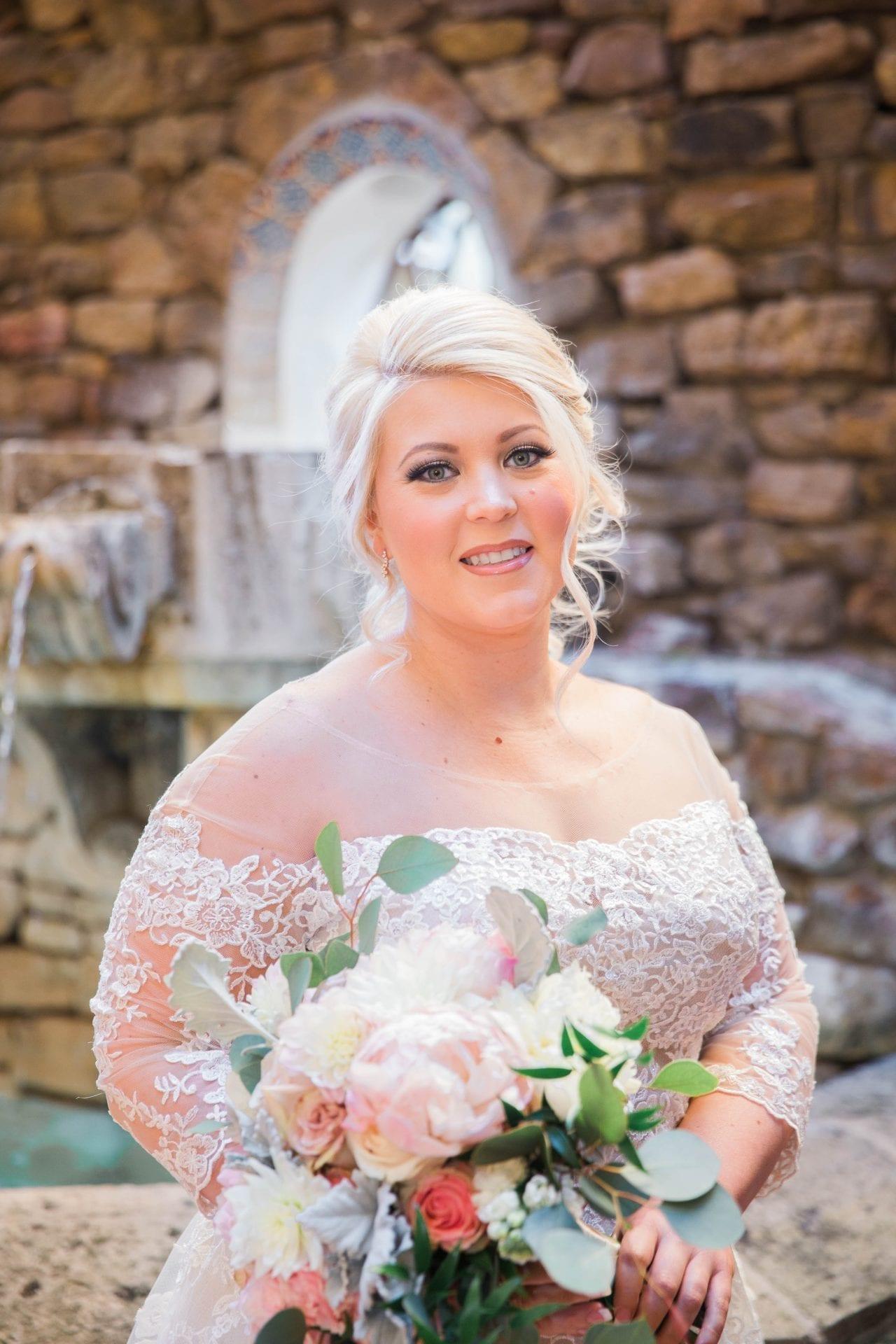 Crawford wedding Omni Del Mansion riverwalk bride headshot