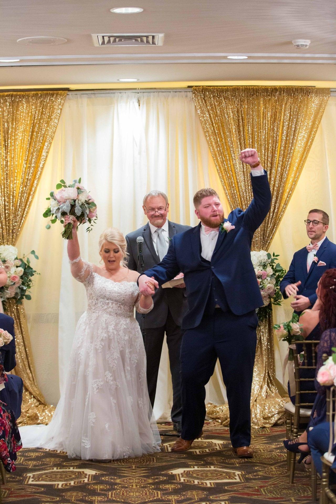 Crawford wedding Omni Del Mansion riverwalk cheers