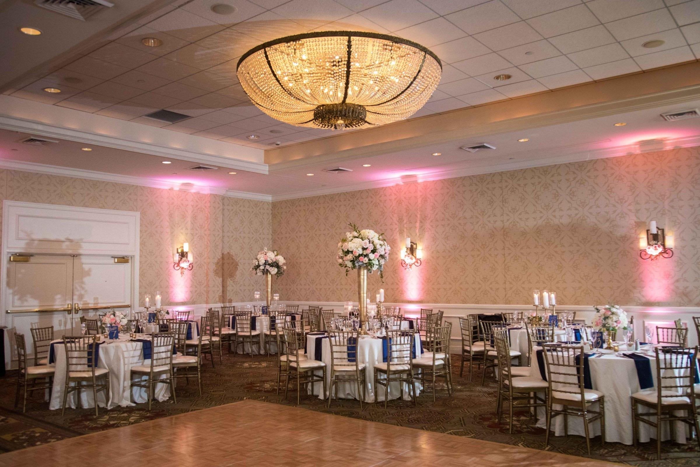 Crawford wedding Omni Del Mansion riverwalk room shot
