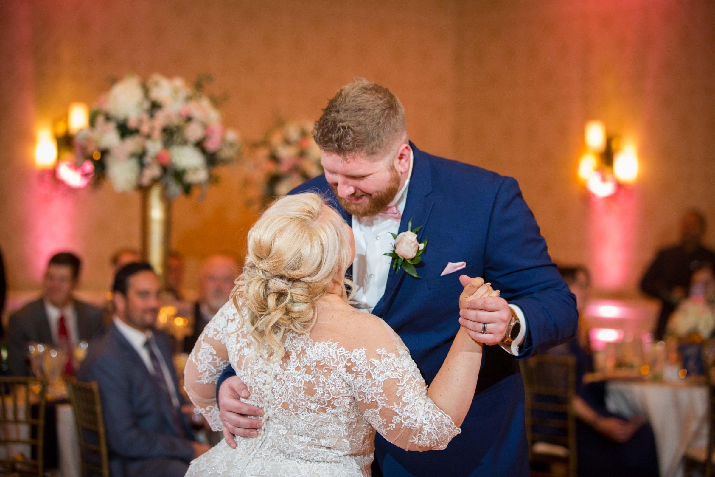 Crawford wedding Omni Del Mansion riverwalk first dance
