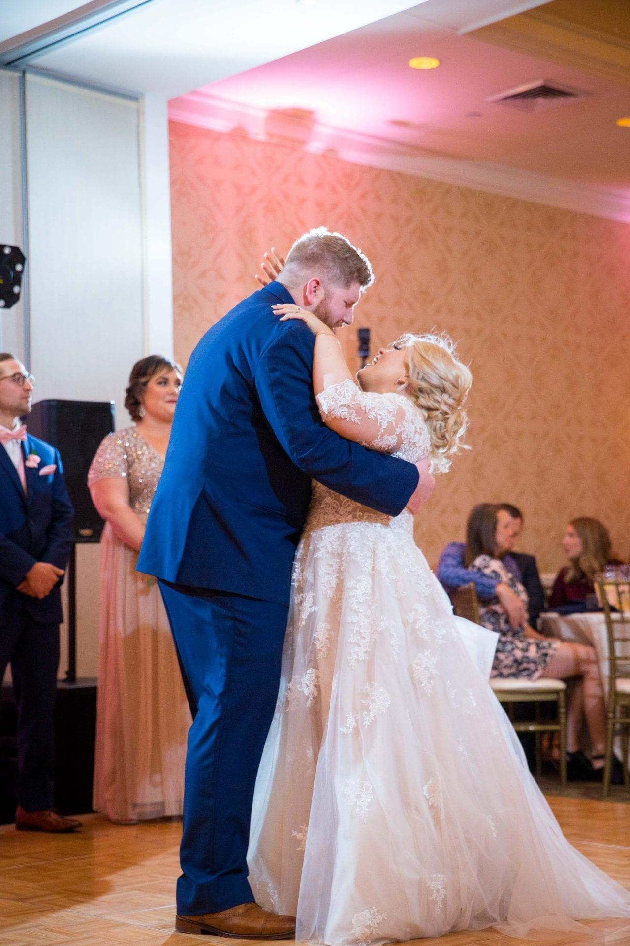 Crawford wedding Omni Del Mansion riverwalk first dance dip