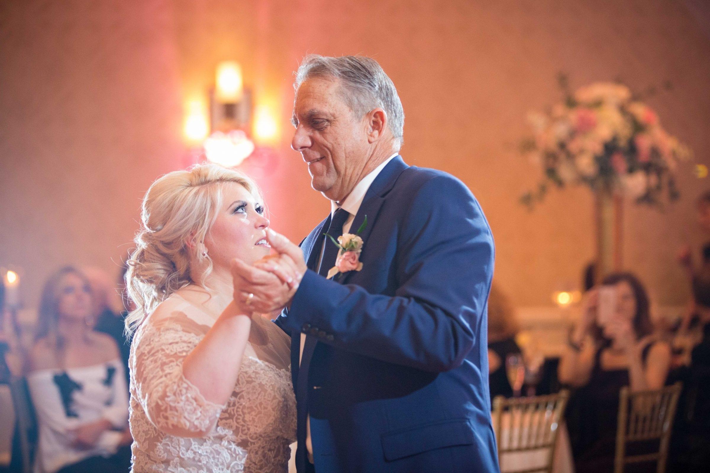 Crawford wedding Omni Del Mansion riverwalk dads dance