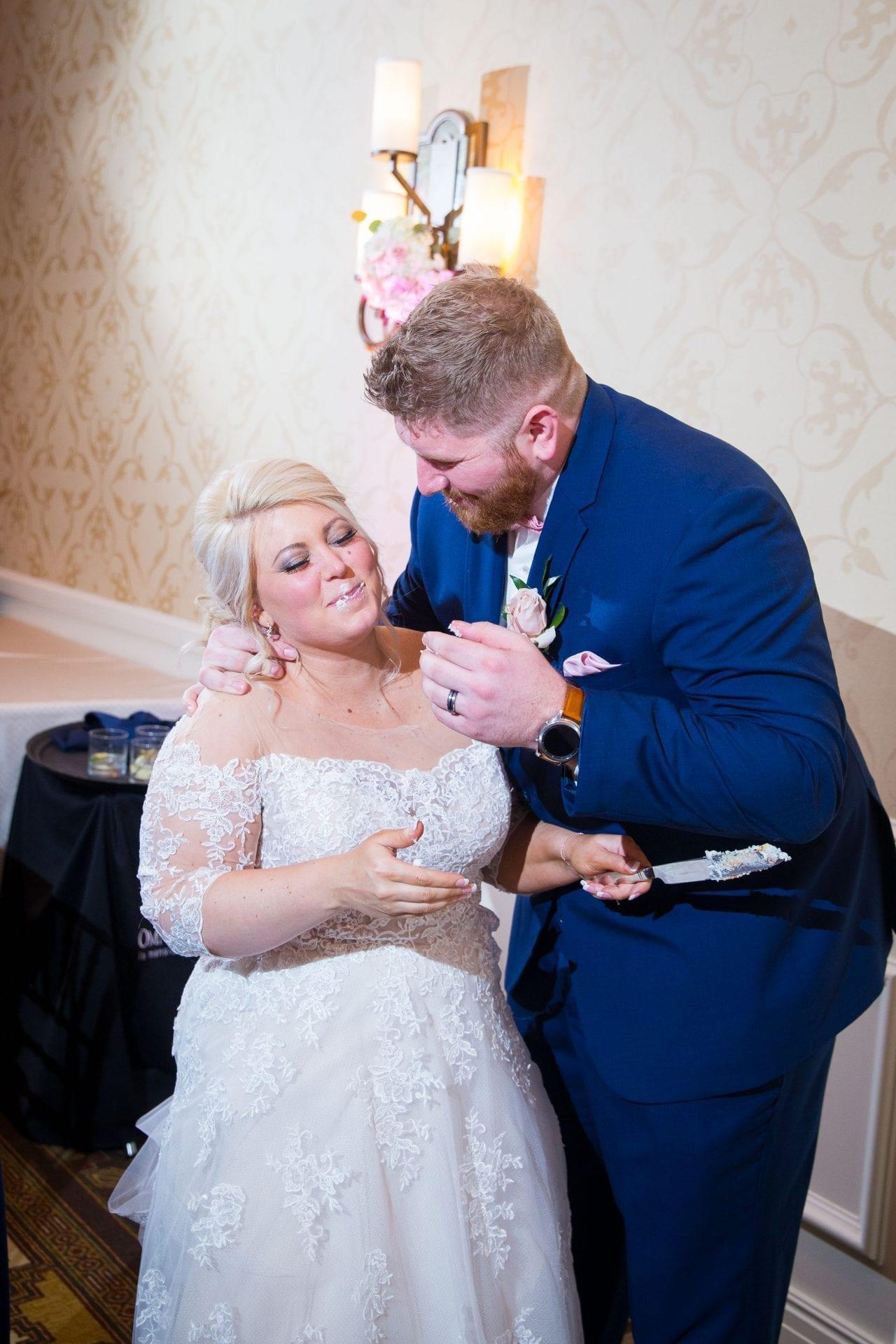 Crawford wedding Omni Del Mansion riverwalk cake smash