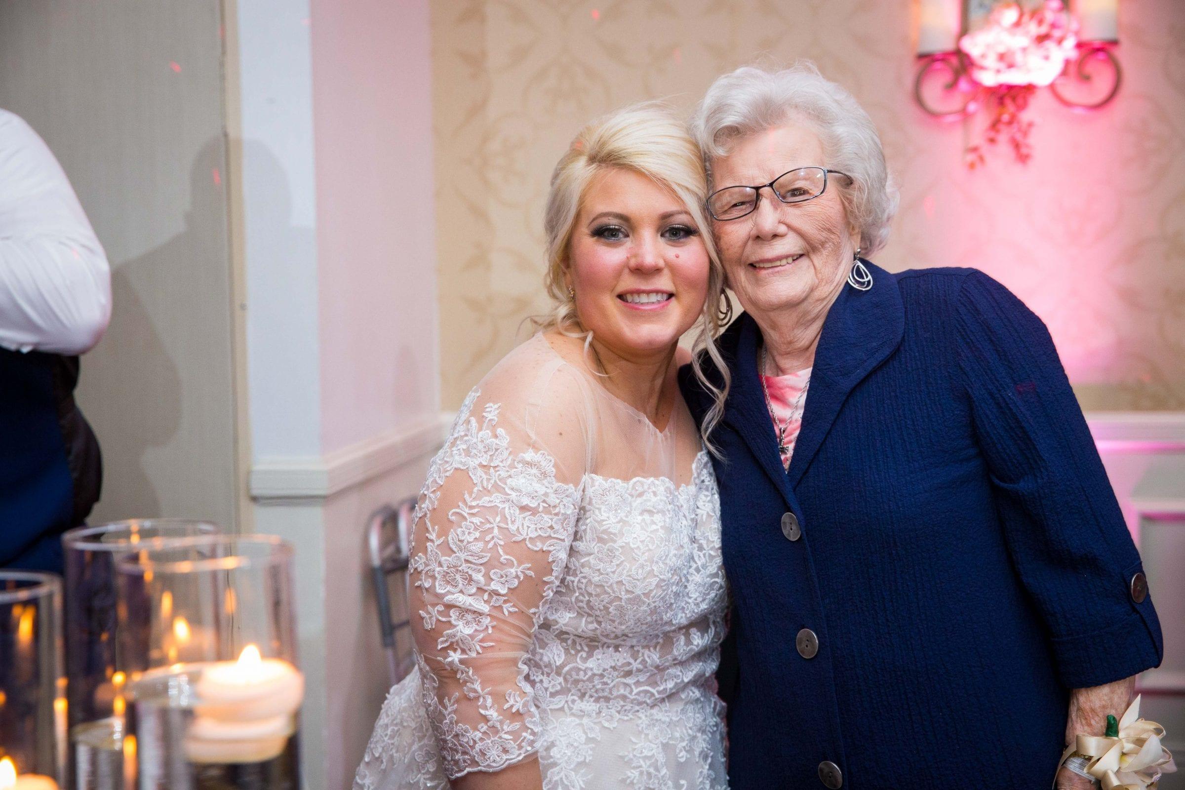 Crawford wedding Omni Del Mansion riverwalk bride and Grandma