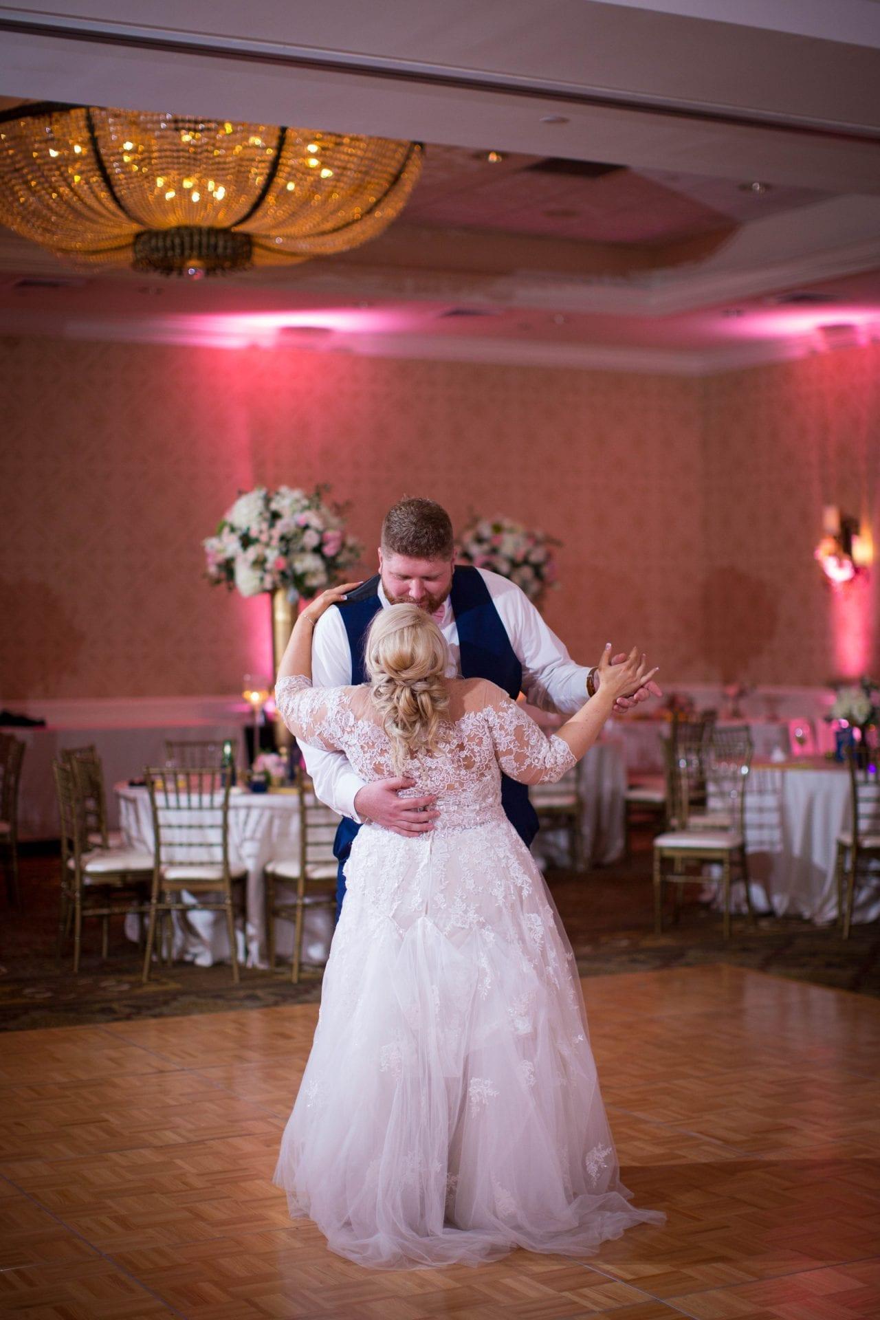 Crawford wedding Omni Del Mansion riverwalk last dance kiss