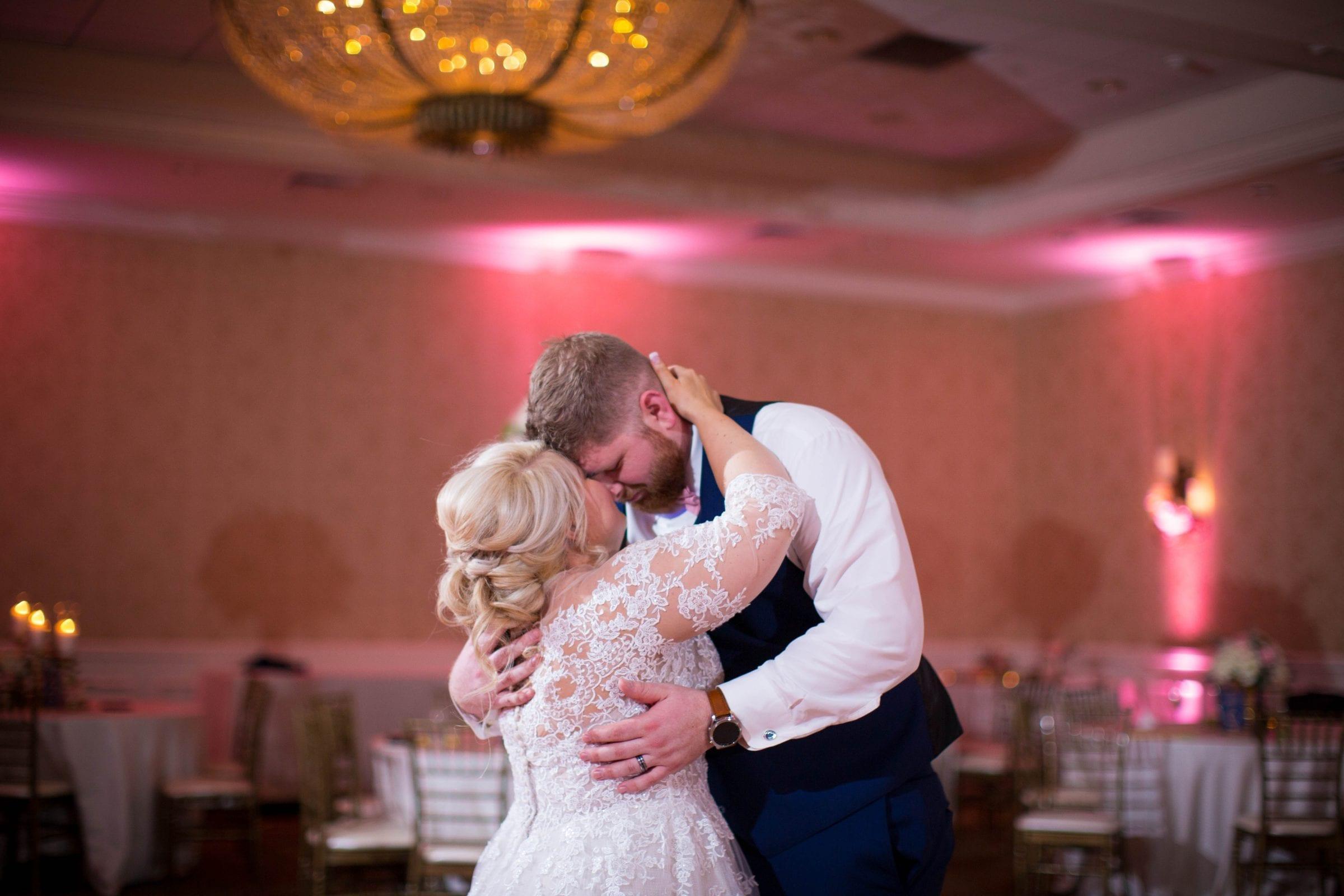 Crawford wedding Omni Del Mansion riverwalk last dance foreheads
