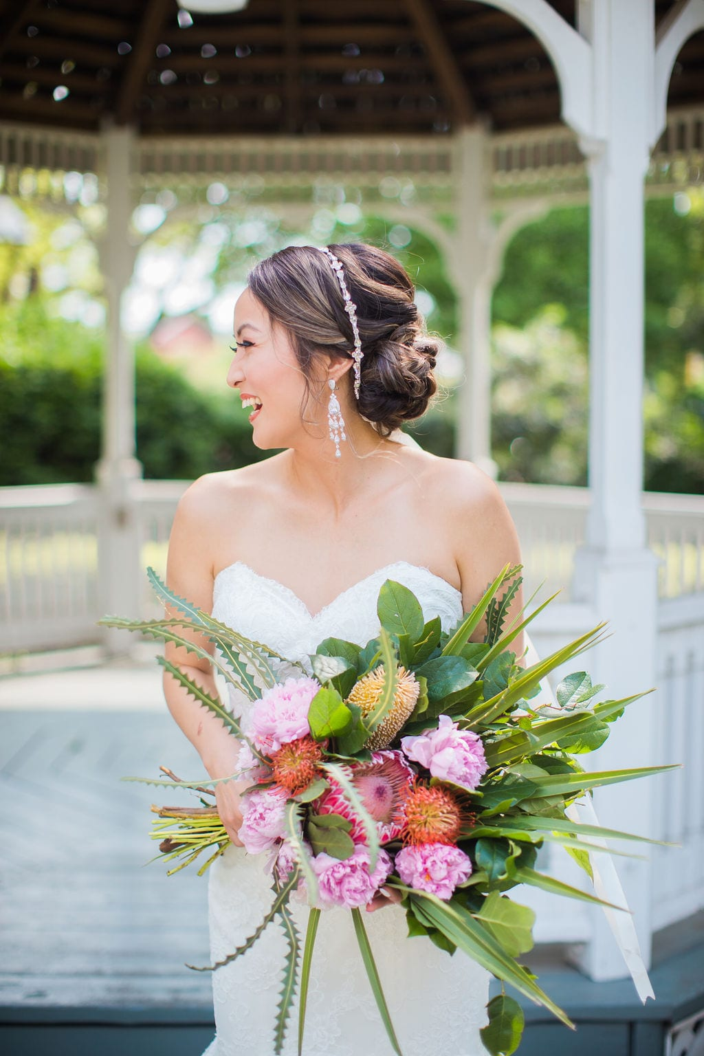Marriott Plaza Styled shoot bride laughing