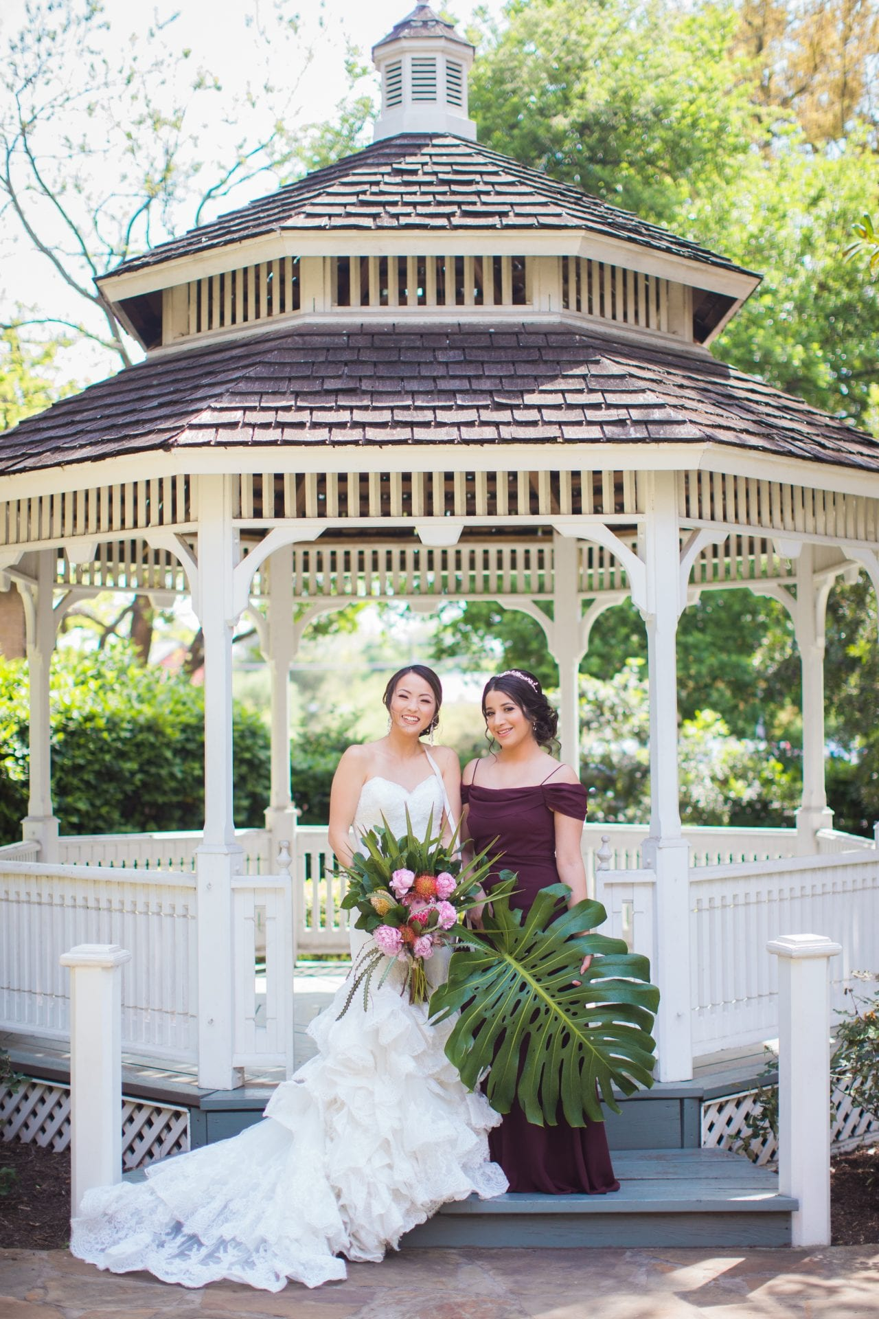 Marriott Plaza Styled Shoot bride and bridesmaid