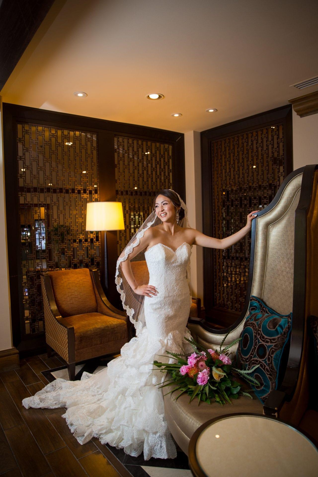 Marriott Plaza Styled Shoot bride full dress