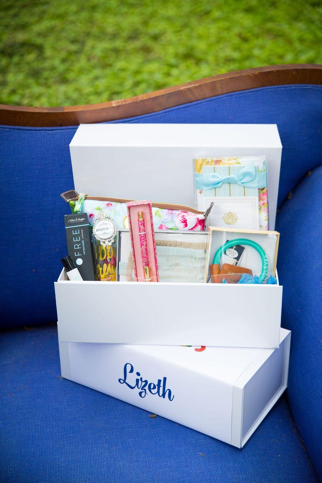 Marriott Plaza Styled gift box