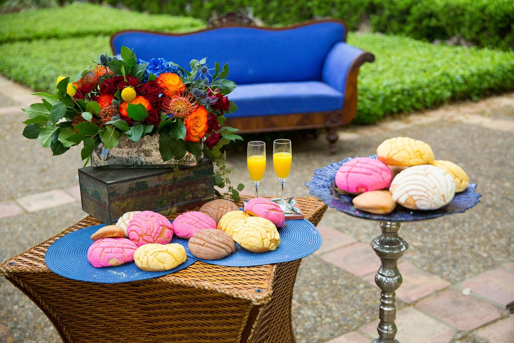 Marriott Plaza Styled Shoot pan dulce
